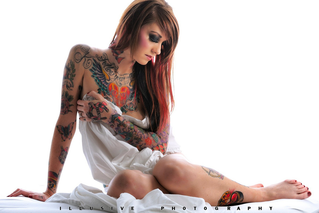 Sexy Tattoo Vixen