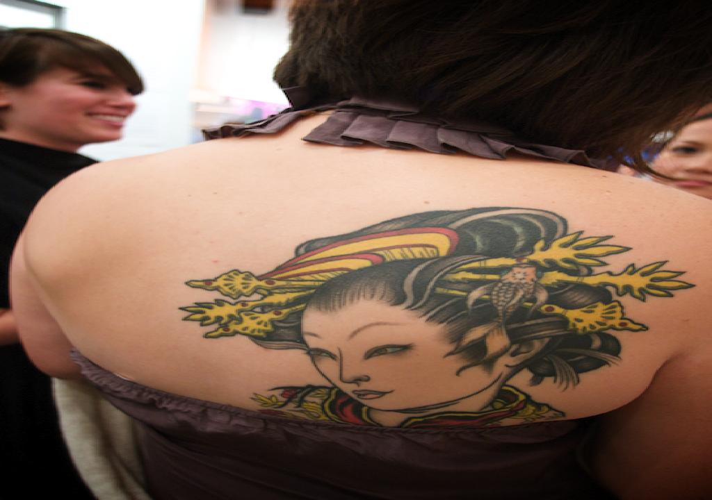 Japanese Woman Tattoo